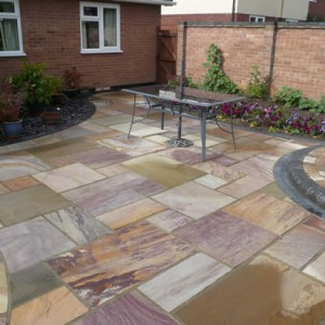 Mixed Sandstone After