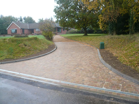 Alpha and Shingle Driveway After