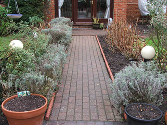 Sandstone Path Before