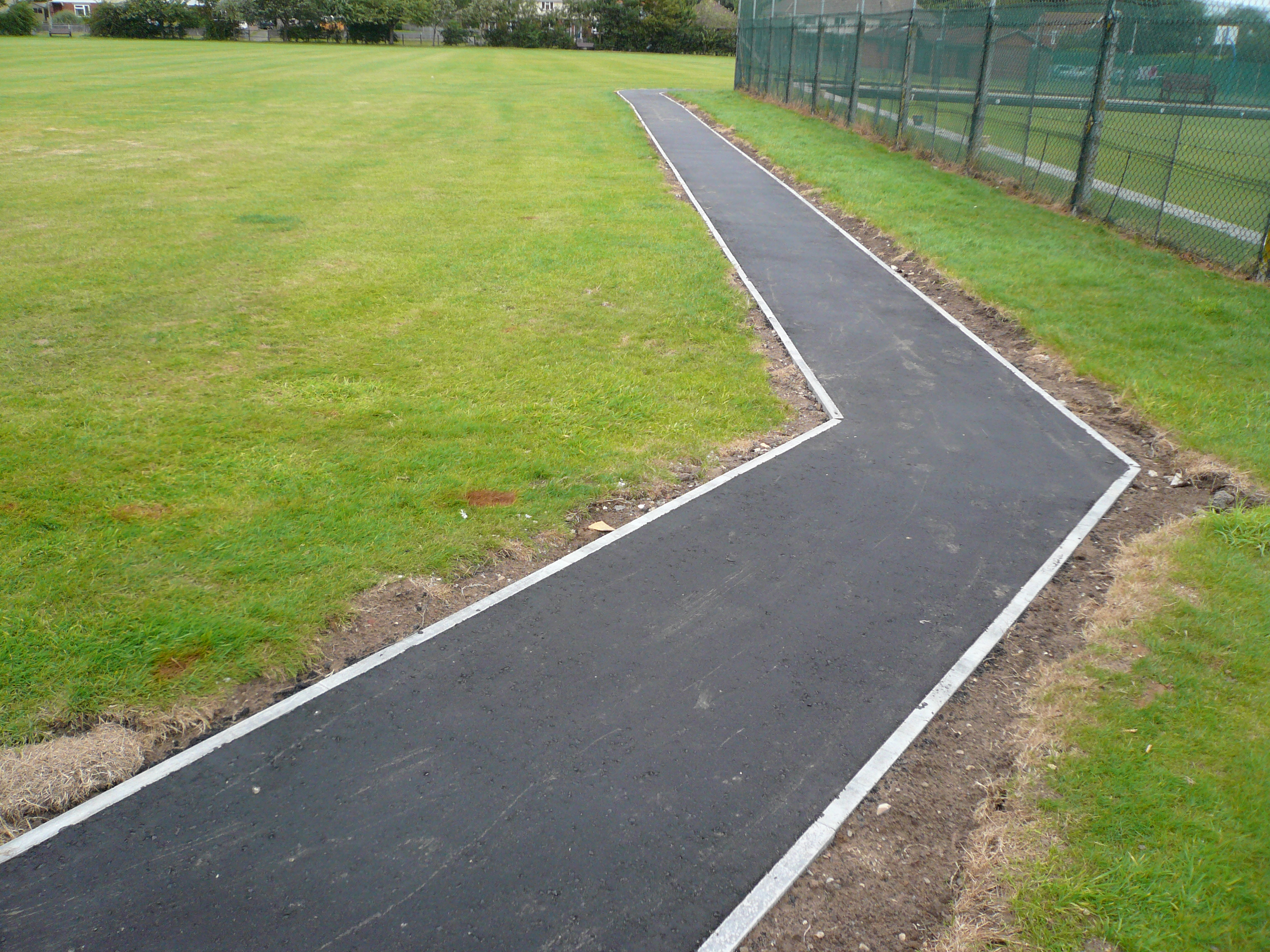 Gary Cooper Paving Playing Fields