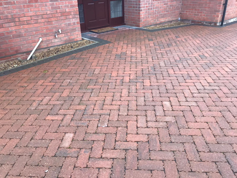 Permeable brickweave with disabled access